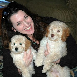 Proud owner of two ALUSA puppies